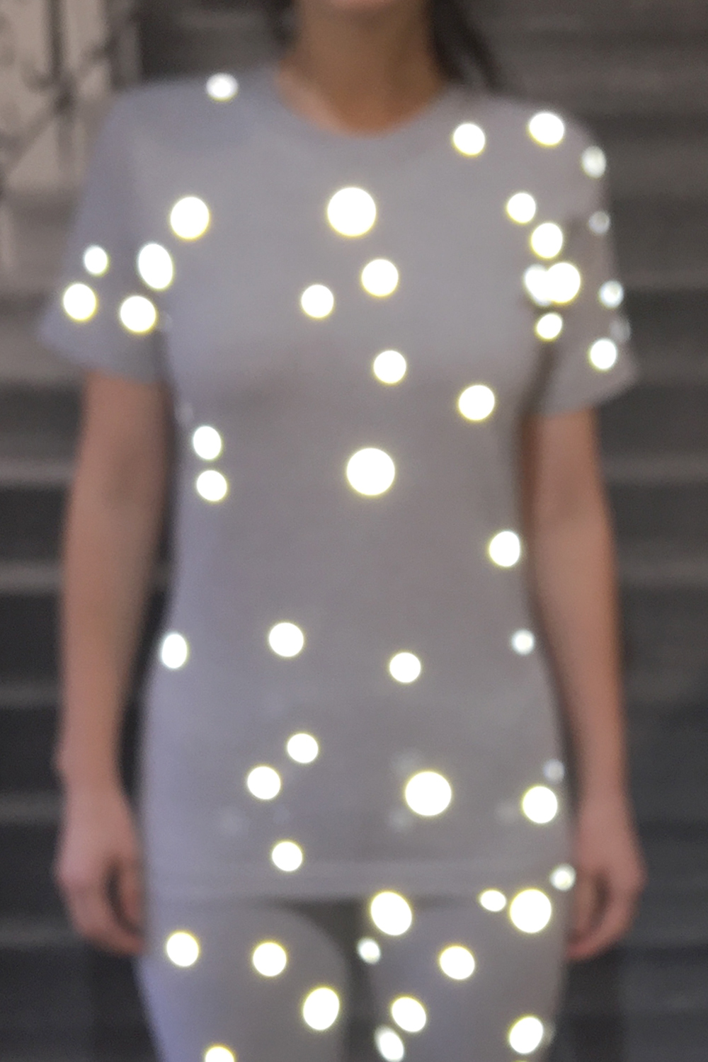 REFLECTIVE DOTS T-SHIRT - 0