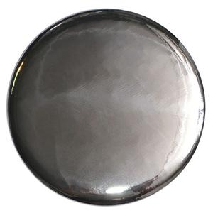 SILVER MIRROR BUTTON - 0