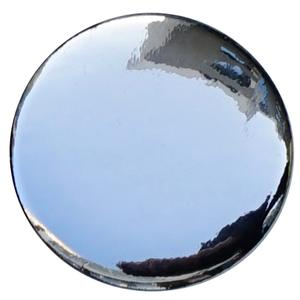 SILVER MIRROR BUTTON