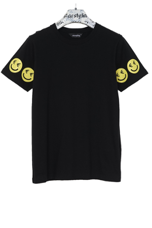 €uro-Smiley T-Shirt - 0