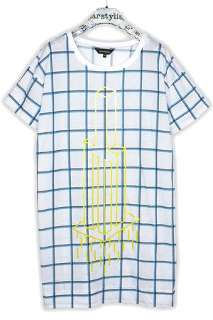 TOWER GRID BIGSHIRT