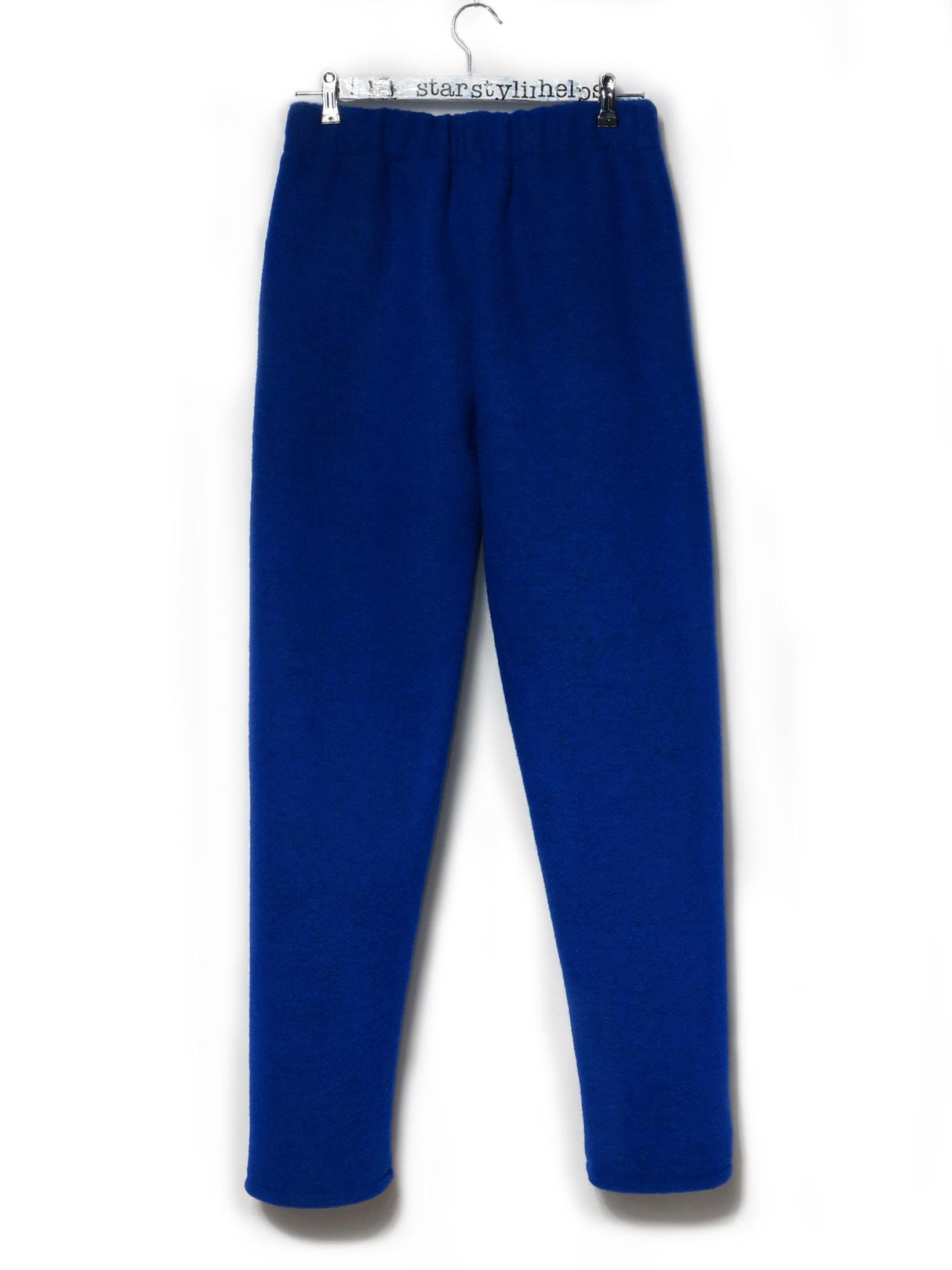 WOOL TROUSERS BLUE MONDAY - 0