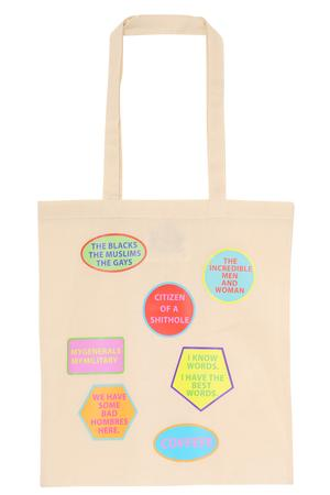 Words Tote Bag